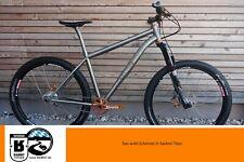 """RABBIT Cycles Titan Titanium 27.5""""  Rohloff Carbon No Tubes Hope MTB"""