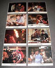 1980 Die Laughing - vintage set of 8 original Color 8x10 movie stills