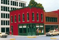 Smalltown USA/RIX -HO #699-6011 City Buildings - John's Place- Left Corner - NIB