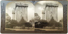 Keystone Stereoview of BLARNEY Castle in Cork, IRELAND from the 1930's T400 Set