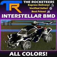 [PC] Rocket League Every Interstellar Black Market Decal White Crimson etc.