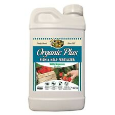 32 oz Fish Kelp Liquid Fertilizer Water Soluble Organic Hydroponic Plant Food