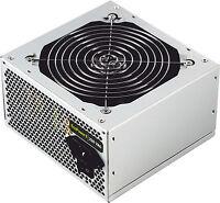 Fuente de alimentación ATX 500W ordenador pc sobremesa / SATA x 4 / CPU 4+4 pin