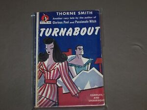 Lot of 3 Thorne Smith classic humor, Turnabout, Stray Lamb, Glorious Pool