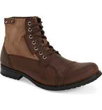 Joe's Jeans Twist Men's Cap Toe Leather Boot Size 13 M