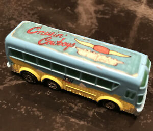 Micro Machines 1991 Rockin Wheels Touring Bus Cousin Cowboys
