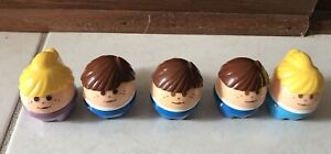 Little Tikes Toddle Tots Chunky Figures People Lot of 5 Vintage Guy & Girl
