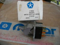 NOS MOPAR 1969-71 PLYMOUTH DODGE CHRY 2 SPEED WIPER SWITCH-2932872