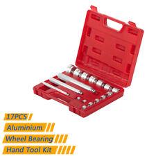 17pc Aluminium Wheel Bearing Race & Seal Bush Driver Set Garage Tool Kit