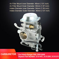 Carburetor For Polaris Ranger 500 1999-2009 UTV ATV Carb 3131441 3131209 3131519