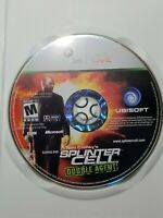 Splinter Cell Double Agent (Microsoft Xbox 360, 2006) Disc only