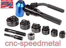 Blechlocher Set hydraulisch Rundblechlocher Knacker Handhydraulik TPA8J 00240