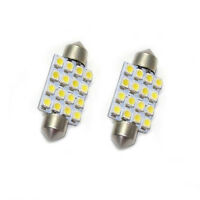 LED 1PC Auto Interior Dome Festoon Bulb Reading Light Licence White Line 16 SMD