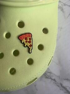 Pizza Croc Charm Croc Shoe Accessories