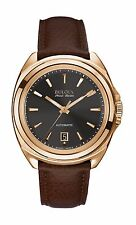 Bulova Accutron Men's 64B126 Accu Swiss Telc Automatic Black Dial Dress Watch