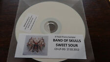 Band of Skulls Sweet Sour Promo CD