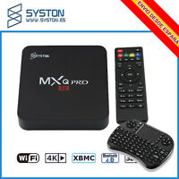 Tv Box MXQ PRO 4K Android 6.0 S905X Quad Core 1G/2G RAM 8G ROM Kodi17.1  HDMI