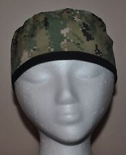 Digital Green Navy Camo NWU TypeIII Camo Men's Scrub Cap/Hat -One size fits most