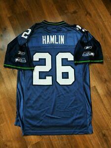Seattle Seahawks NFL jersey Ken Hamlin shirt REEBOK size S