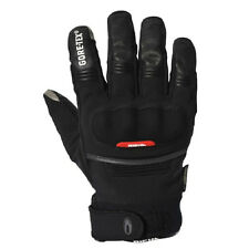 Richa City GTX Medium Black Leather Textile Gore-tex Thermal Motorcycle Gloves