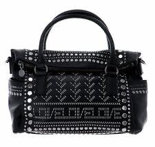 Desigual Azabache Loverty Hand Bag Handtasche Tasche Negro Schwarz Neu