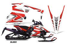 AMR Racing Yamaha Viper Graphic Kit Snowmobile Sled Wrap Decal 14-16 SLASH RED