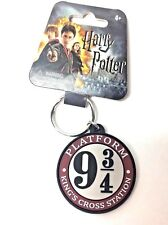Harry Potter Keychain Purse Charm Platform 9 3/4 Rubber Nwt