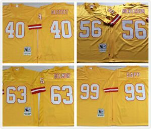 Vintage Tampa Bay Buccaneers Throwback Replica Stitched Jersey #40 #56 #63 #99