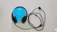 Logitech H540 Corded Headset USB PC Zoom Skype - Black (981-000510) - Grade C