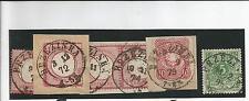 Preussen V. / BRZEZINKA je K2 auf DR 4, Briefstück 4, Briefstück Paar 19, Briefs
