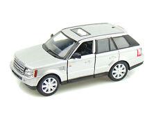 Kinsmart Range Rover Pull Back Action Diecast Metal Car (silver)