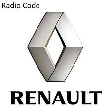 Renault Radio Code / Key Code