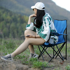More details for folding camping chair portable fishing beach outdoor garden chairs