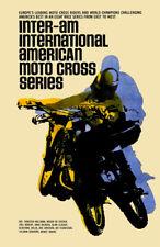 Vintage Motocross Poster-VMX Inter-Am series motocross
