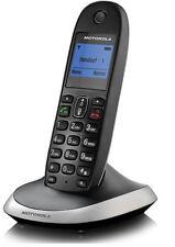 Schnurloses Telefon analog Motorola C2001 Freisprechen Schwarz + B-Ware +