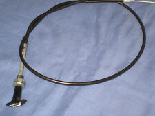 bhh2064  MGB ROADSTER  OR  GT T  PULL  CHOKE CABLE 1976 ON   rubber bumper F3