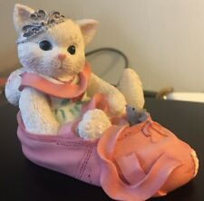 "Calico Kittens ""We're Partners In The Dance Of Life� Reg #7Co/669 Enesco 1997"