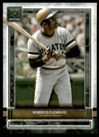 2020 Topps Museum Collection #35 Roberto Clemente