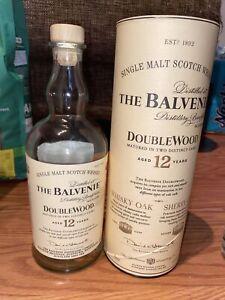 RARE Balvenie Triple Cask 12 Year Scotch Whiskey Bottle Empty