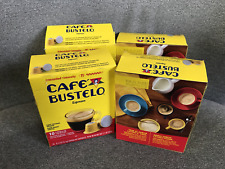 Cafe Bustelo Espresso Dark Roast Coffee 40 Count Capsules for Espresso Machines