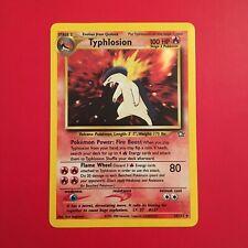 Typhlosion Neo Genesis 18/111 Pokemon Card Holo Rare