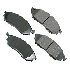 Front Disc Brake Pads Akebono ProACT ACT888 For Nissan Murano Infiniti QX50 Q70