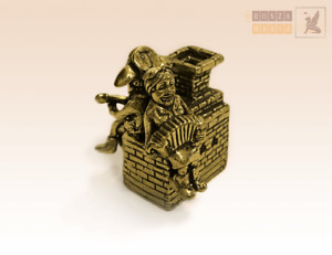 """Furnace"" Souvenir Bell  Figure Statue BronZamania B1010"