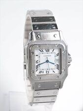 Cartier Santos 29 mm Herren Armbanduhr Stahl Automatik Datum Ref 2960