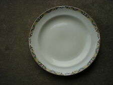 "Mount Clemens Pottery 1930-40s Dinner 9"" Plate Pink Rose Floral 1135R  USA"
