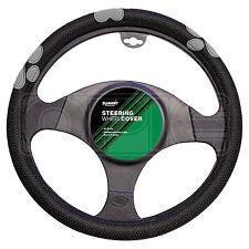Summit SUM-720 Grey Paw Print Steering Wheel Cover - Single