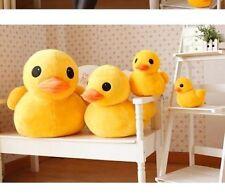 "1PC 30cm(12"") Giant Yellow Duck Stuffed Animal Plush Soft Toys Cute Doll Pillow"