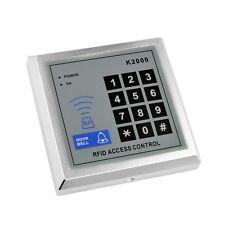 NSEE K2000 500 User 125KHz RFID Card Keyfob Reader Door Access Control w/ Keypad