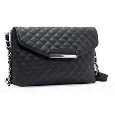Women Lattice Clutch Handbag Crossbody Tote Purse Messenger Hobo Shoulder Bag