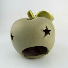 Deko Windlicht Teelichthalter Apfel